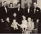 Gustaf with his family in 1940